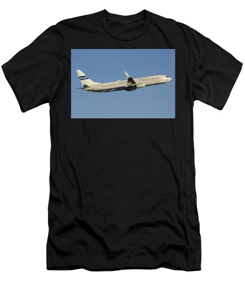 United Boeing 737-924 N75436 Retro Continental Phoenix Sky Harbor December 9 2015 Men's T-Shirt (Athletic Fit)