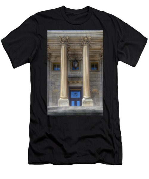 Men's T-Shirt (Athletic Fit) featuring the photograph United States Capitol - House Of Representatives  by Marianna Mills