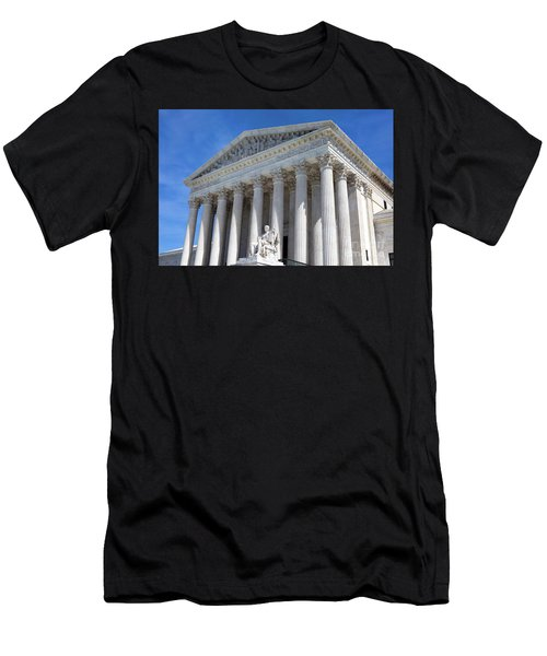 United States Supreme Court Building Men's T-Shirt (Athletic Fit)