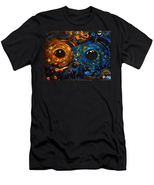 Universe Watching Men's T-Shirt (Athletic Fit)