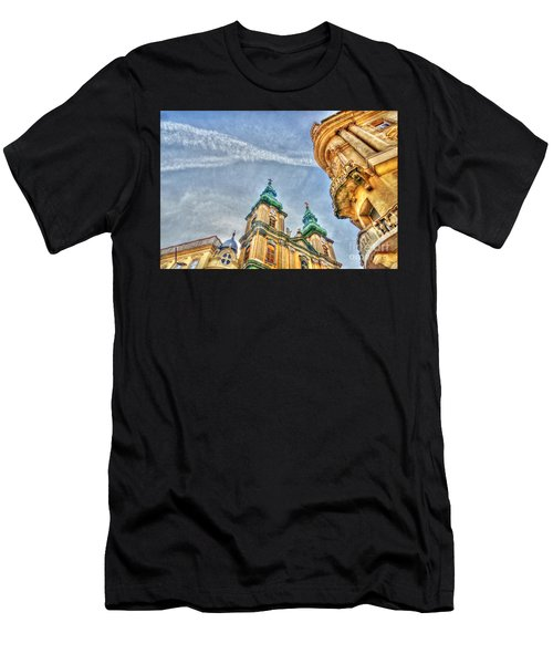 University Church In Budapest Men's T-Shirt (Athletic Fit)