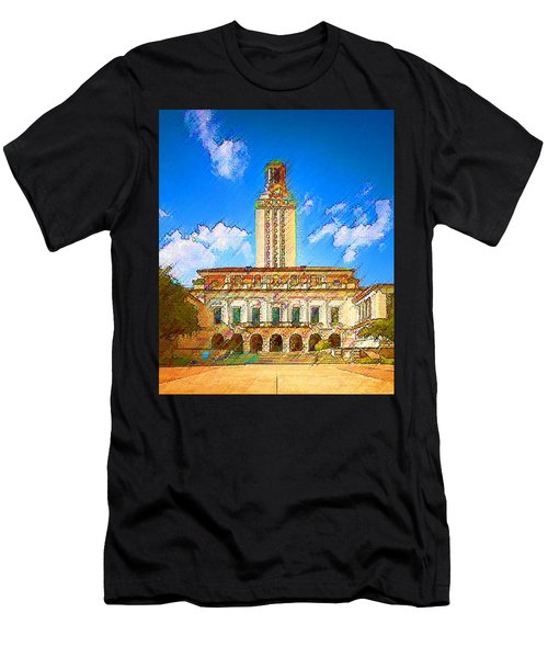 University Of Texas Men's T-Shirt (Athletic Fit)