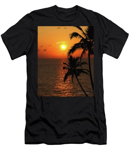 Unknown Paradise Men's T-Shirt (Athletic Fit)