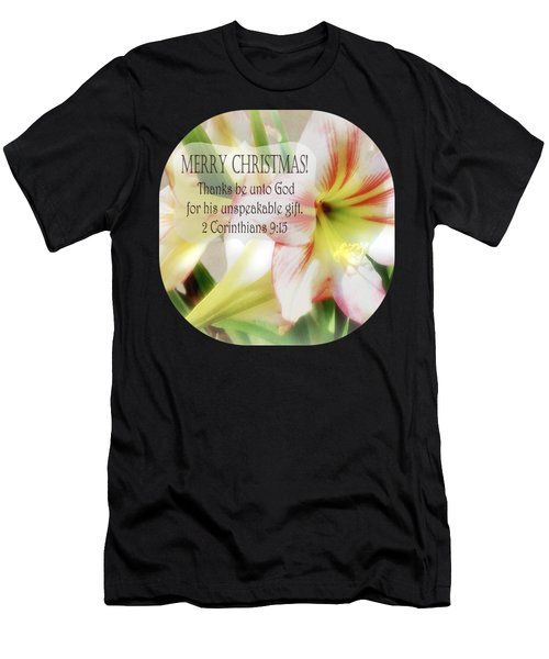 Unspeakable Gift Men's T-Shirt (Athletic Fit)