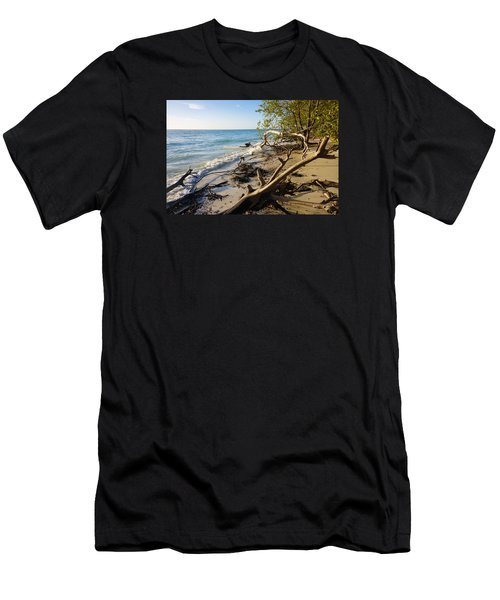 The Unspoiled Beaty Of Barefoot Beach Preserve In Naples, Fl Men's T-Shirt (Athletic Fit)