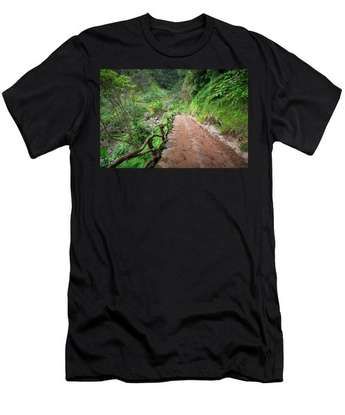 Until The Infinity Men's T-Shirt (Athletic Fit)