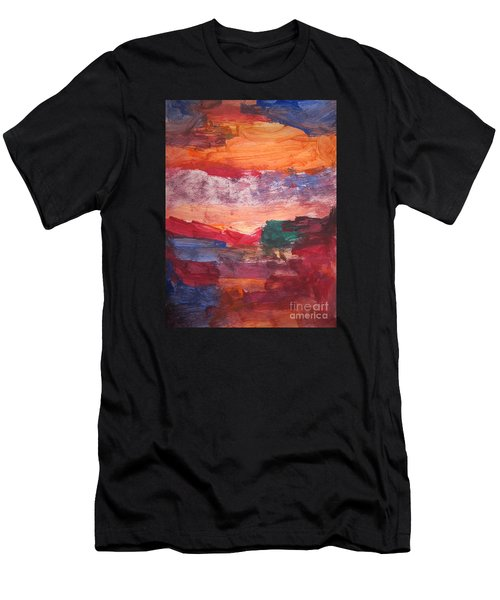 untitled 109 Original Painting Men's T-Shirt (Athletic Fit)