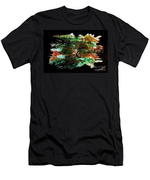 Nature Men's T-Shirt (Athletic Fit)