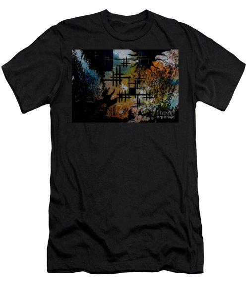 Cross Line Men's T-Shirt (Athletic Fit)