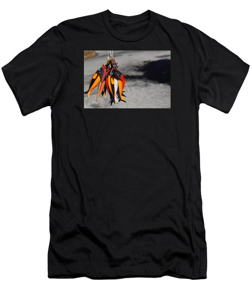 Men's T-Shirt (Slim Fit) featuring the photograph Unusual Catch by Richard Patmore