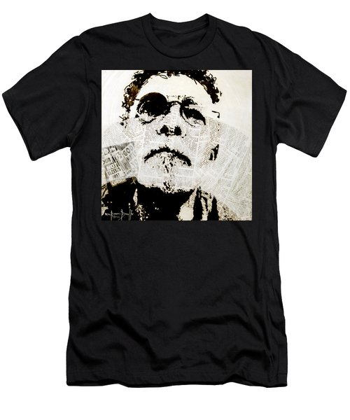 Men's T-Shirt (Slim Fit) featuring the painting Unwanted Things by Ron Richard Baviello