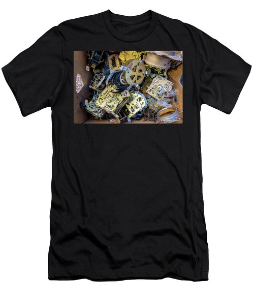 Men's T-Shirt (Slim Fit) featuring the photograph Unwinding by Christopher Holmes