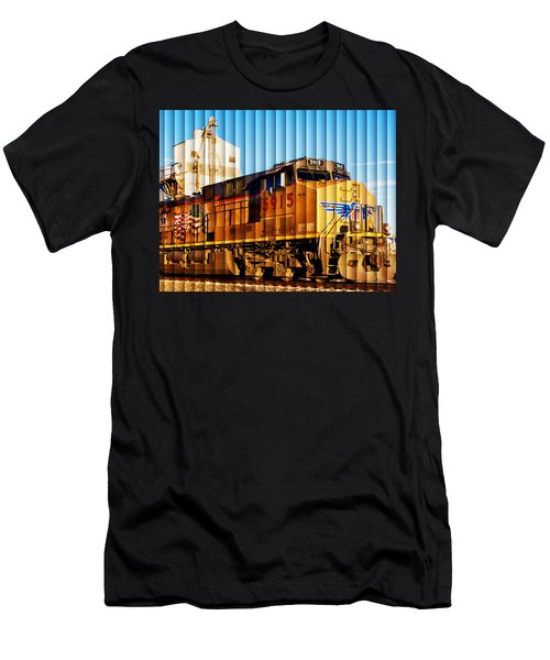 Up 5915 At Track Speed Men's T-Shirt (Athletic Fit)