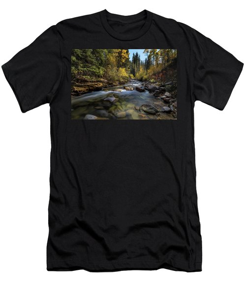 Up A Colorado Creek Men's T-Shirt (Athletic Fit)
