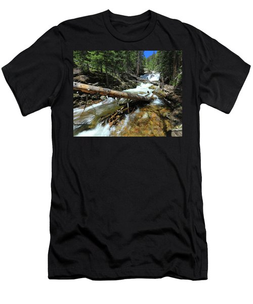 Up A Log Men's T-Shirt (Athletic Fit)