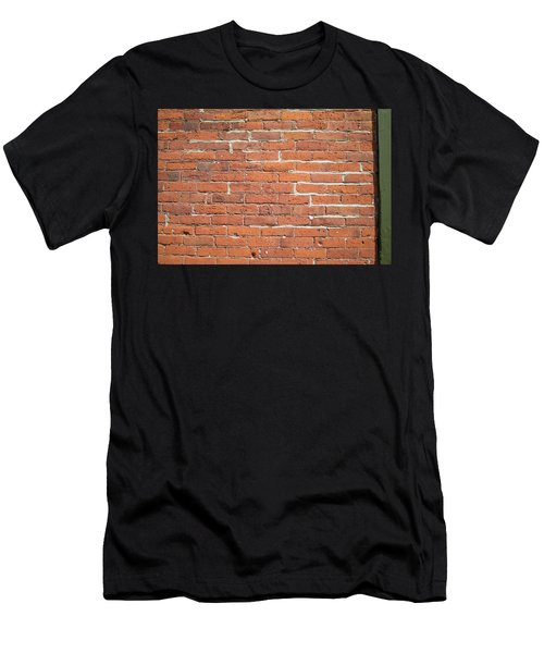 Up Against A Wall Men's T-Shirt (Athletic Fit)