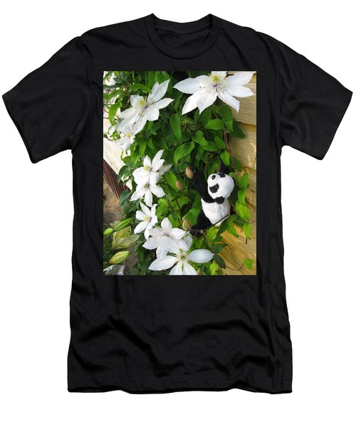 Men's T-Shirt (Slim Fit) featuring the photograph Up And Up And Up by Ausra Huntington nee Paulauskaite