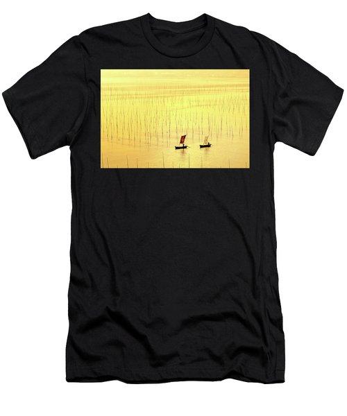 Up At Dawn. Men's T-Shirt (Athletic Fit)