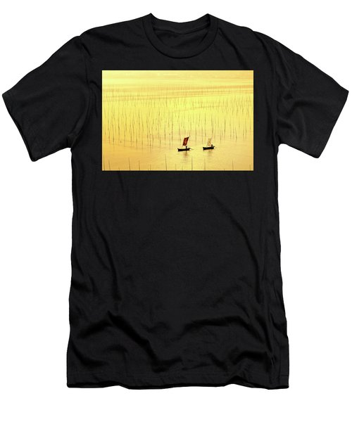 Up At Dawn. Men's T-Shirt (Athletic Fit)