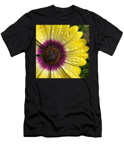 Daisy Up Close  Men's T-Shirt (Athletic Fit)