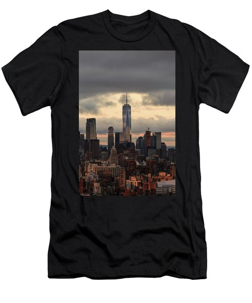 Up High  Men's T-Shirt (Athletic Fit)