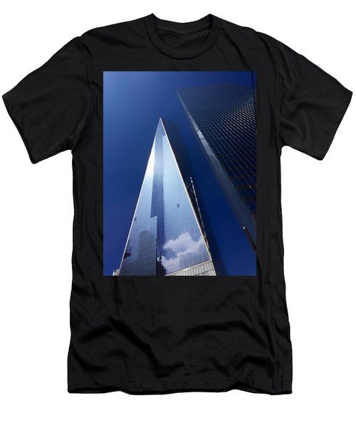 Up In New York Men's T-Shirt (Athletic Fit)