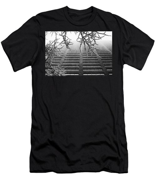 Up In The Snow Men's T-Shirt (Athletic Fit)