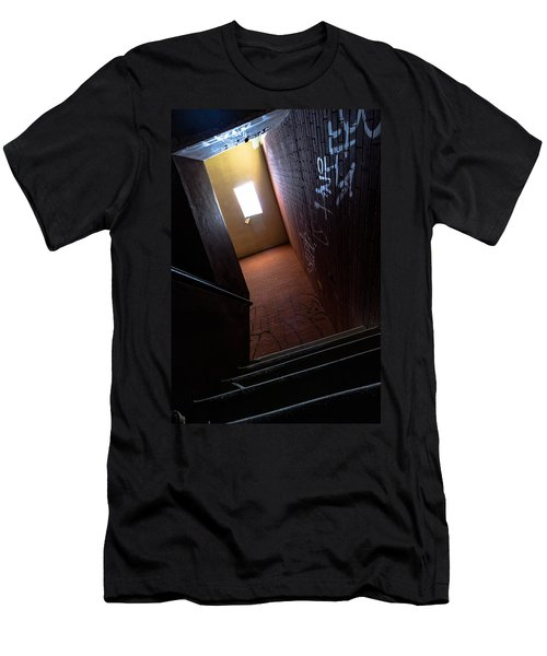 Up The Stairs Men's T-Shirt (Athletic Fit)