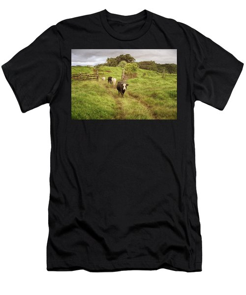 Upcountry Ranch Men's T-Shirt (Athletic Fit)