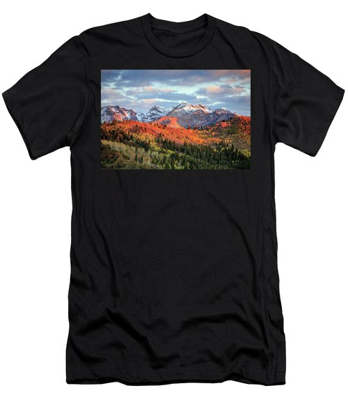 Upper American Fork Canyon Men's T-Shirt (Athletic Fit)