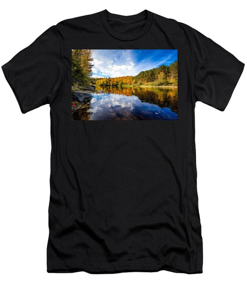Upper Ammonoosuc River Men's T-Shirt (Athletic Fit)