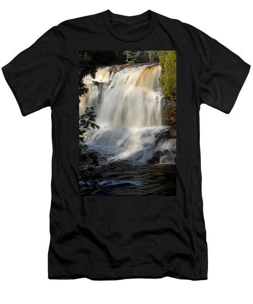 Upper Falls Gooseberry River 2 Men's T-Shirt (Athletic Fit)