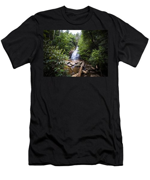 Upper Helton Falls Men's T-Shirt (Athletic Fit)