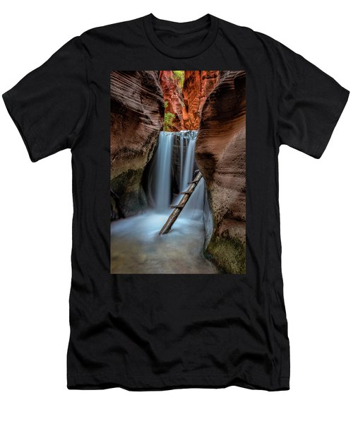Upper Kanarraville Falls Men's T-Shirt (Athletic Fit)