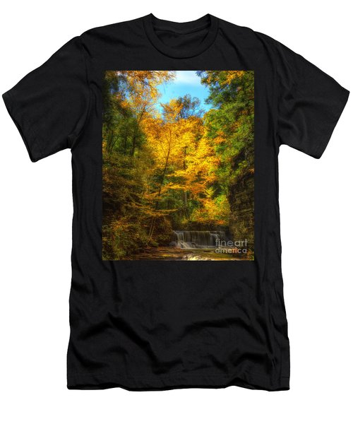 Upper Pinnacle Falls Men's T-Shirt (Athletic Fit)
