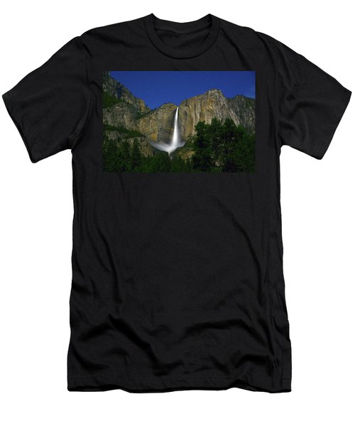 Upper Yosemite Falls Under The Stairs Men's T-Shirt (Athletic Fit)