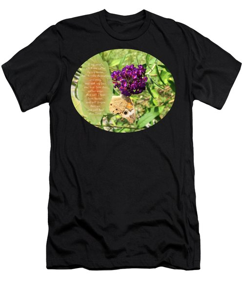 Upside Down - Verse Men's T-Shirt (Athletic Fit)