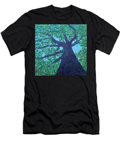 Upward Treejectory Men's T-Shirt (Athletic Fit)