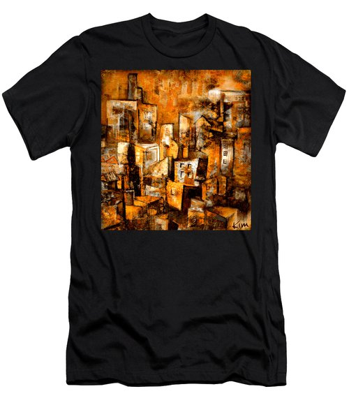 Urban Abstract #1 Men's T-Shirt (Athletic Fit)