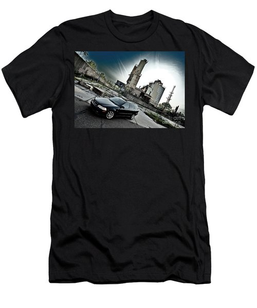 Urban Background Men's T-Shirt (Athletic Fit)