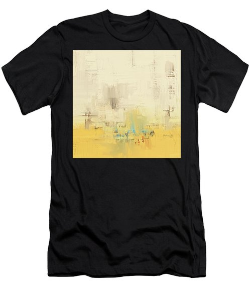 Men's T-Shirt (Athletic Fit) featuring the mixed media Urban Decay by Eduardo Tavares