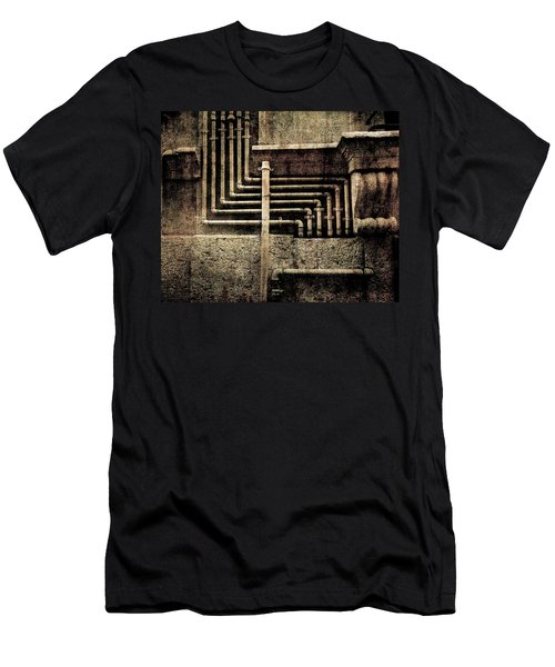 Urban Geometries Men's T-Shirt (Athletic Fit)