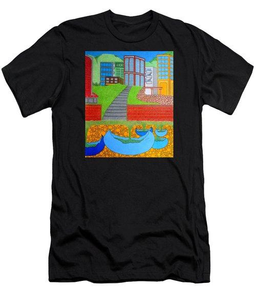 Urban Growth Men's T-Shirt (Athletic Fit)