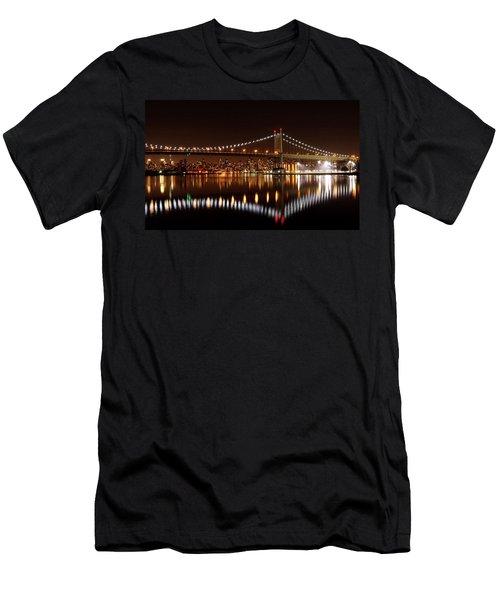 Triboro Bridge Brilliance Men's T-Shirt (Athletic Fit)