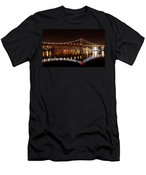 Triboro Bridge Brilliance Men's T-Shirt (Athletic Fit)