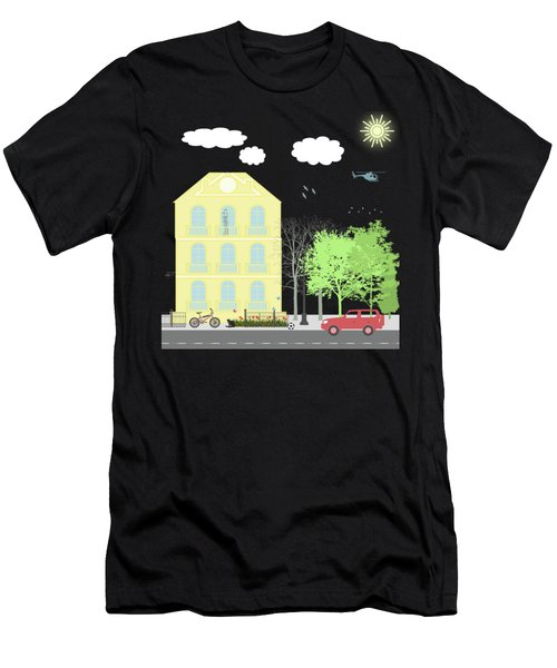 Urban Scene Men's T-Shirt (Athletic Fit)