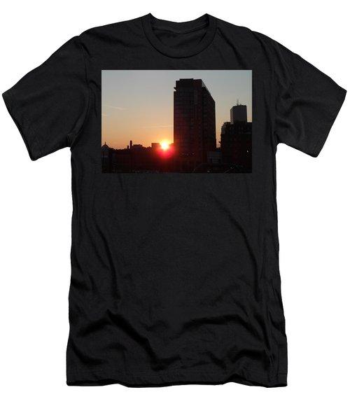 Urban Sunset Men's T-Shirt (Athletic Fit)