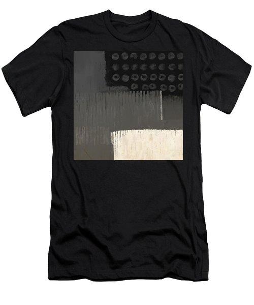 Men's T-Shirt (Athletic Fit) featuring the mixed media Urbanized by Eduardo Tavares