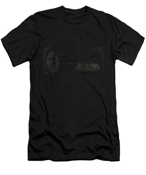 U.s. Five Hundred Dollar Bill - 1864 $500 Usd Treasury Note  Men's T-Shirt (Athletic Fit)