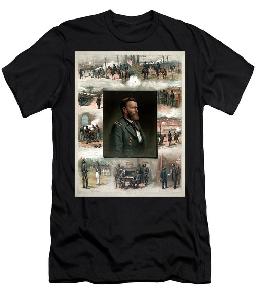 Us Grant's Career In Pictures Men's T-Shirt (Athletic Fit)